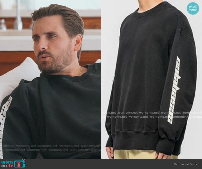 Season 4 Calabasas Sweatshirt by Yeezy