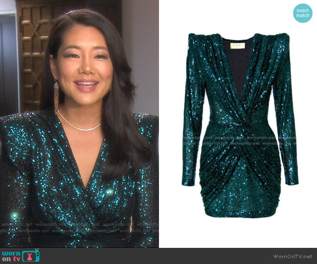 Jennifer Midnight Dress by Aggi worn by Crystal Kung Minkoff  on The Real Housewives of Beverly Hills