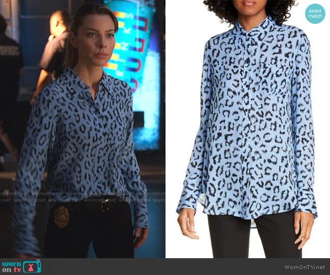 Emerson Shirt by A.L.C. worn by Chloe Decker (Lauren German) on Lucifer