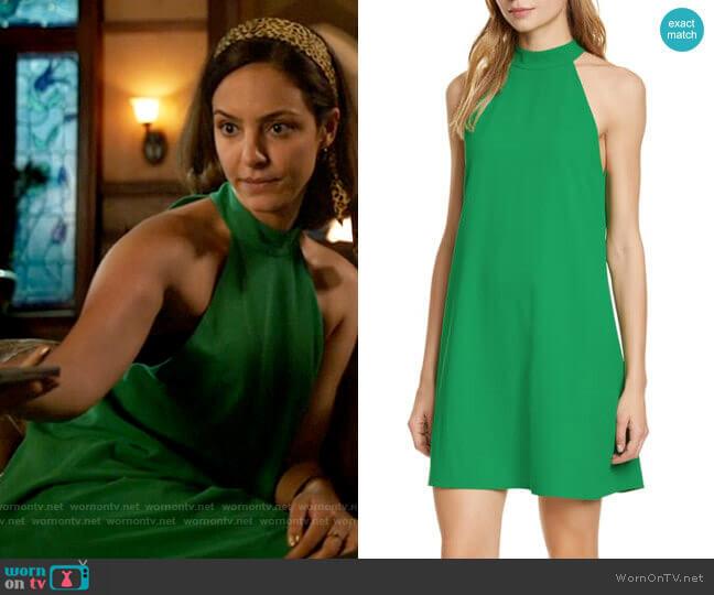 Alice + Olivia Susanna Dress worn by Zari Tomaz (Tala Ashe) on Legends of Tomorrow