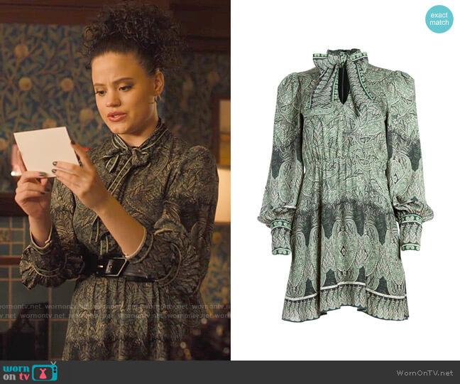 Alice + Olivia Tanisha Dress worn by Maggie Vera (Sarah Jeffery) on Charmed