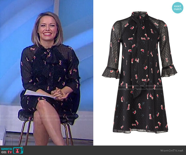 Flower Petal Dress by Slate & Willow worn by Dylan Dreyer  on Today