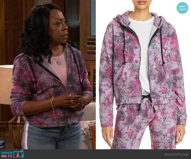 Alternative Chelsea Full Zip Hoodie worn by Tina (Tichina Arnold) on The Neighborhood