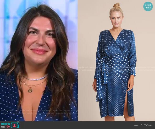 Sparks Dress by Altuzarra worn by Katie Sturino on GMA