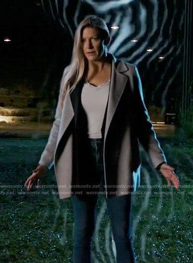 Ava's grey coat on Legends of Tomorrow