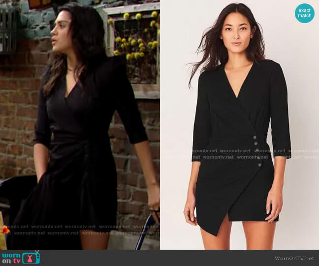 ba&sh Bliss Dress worn by Lola Rosales (Sasha Calle) on The Young & the Restless