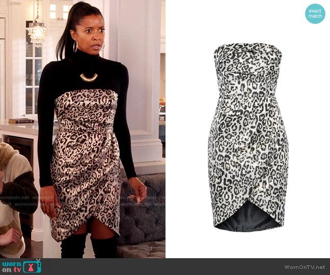 Black Halo Eve Dress worn by Wickie Roy (Renée Elise Goldsberry) on Girls5eva