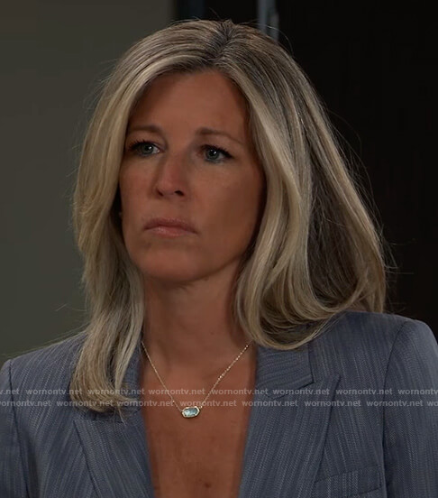 Carley's pendant necklace on General Hospital
