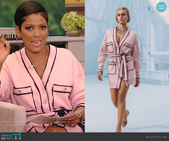 2021 Spring Collection by Chanel worn by Tamron Hall  on Tamron Hall Show