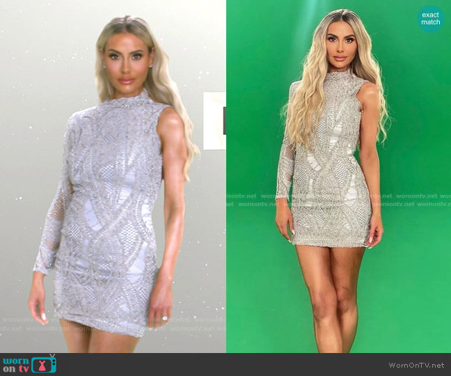 Diamond Dress by Dorit x Nektaria worn by Dorit Kemsley  on The Real Housewives of Beverly Hills