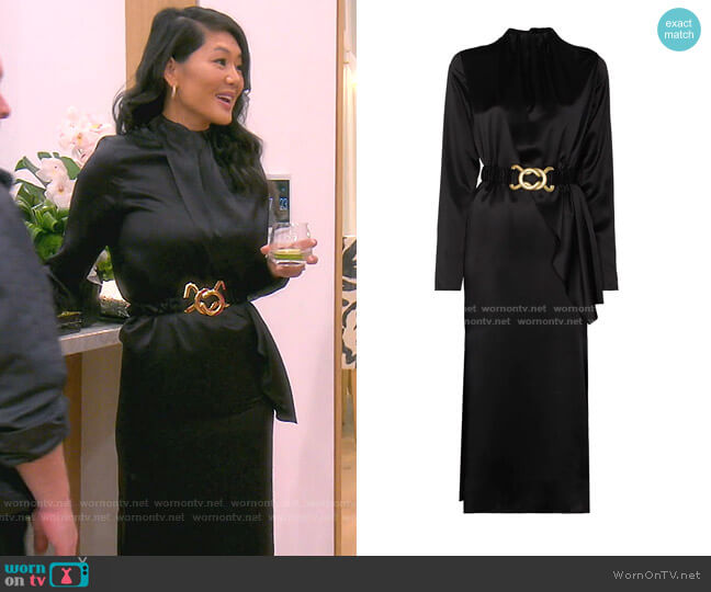 Berna Dress by Dodo Bar Or worn by Crystal Kung Minkoff  on The Real Housewives of Beverly Hills