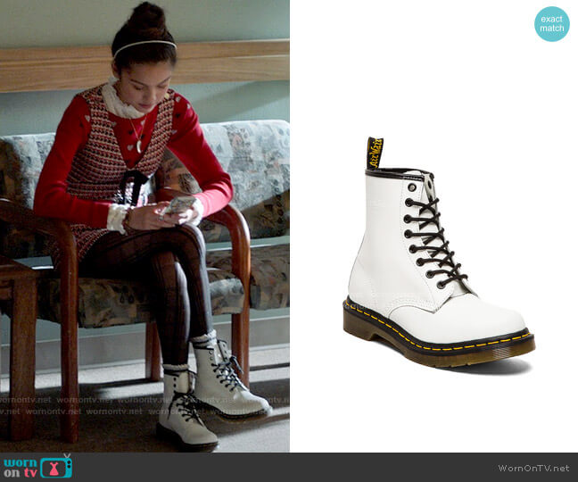 Dr Martens 1460 8-Eye Boot worn by Nini (Olivia Rodrigo) on High School Musical The Musical The Series