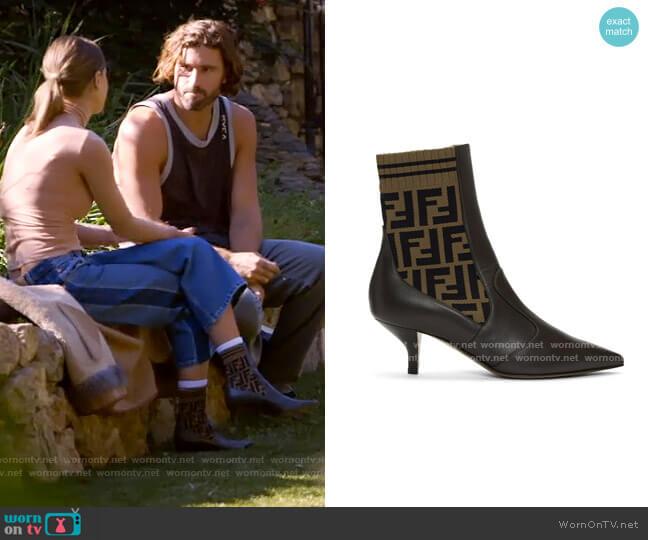 Fendi Forever Fendi Rockoko Boots worn by Kaitlynn Carter  on The Hills New Beginnings
