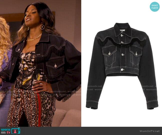 Ganni Rienzi Jacket worn by Wickie Roy (Renée Elise Goldsberry) on Girls5eva