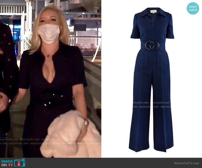 Gucci Wool and Silk Jumpsuit worn by Heidi Montag  on The Hills New Beginnings