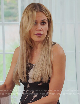 Teresa's tie dye tank on The Real Housewives of New Jersey
