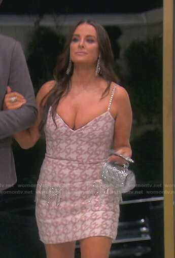 Garcelle's intro scene dress on The Real Housewives of Beverly Hills