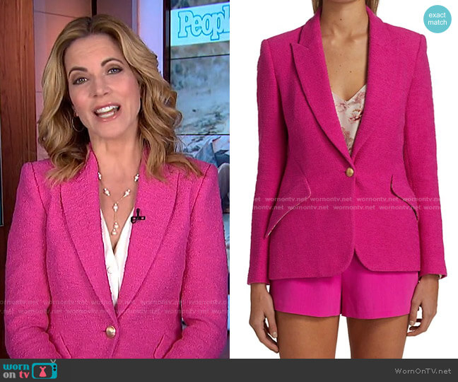 Chamberlain Blazer by L'Agence worn by Natalie Morales  on Today