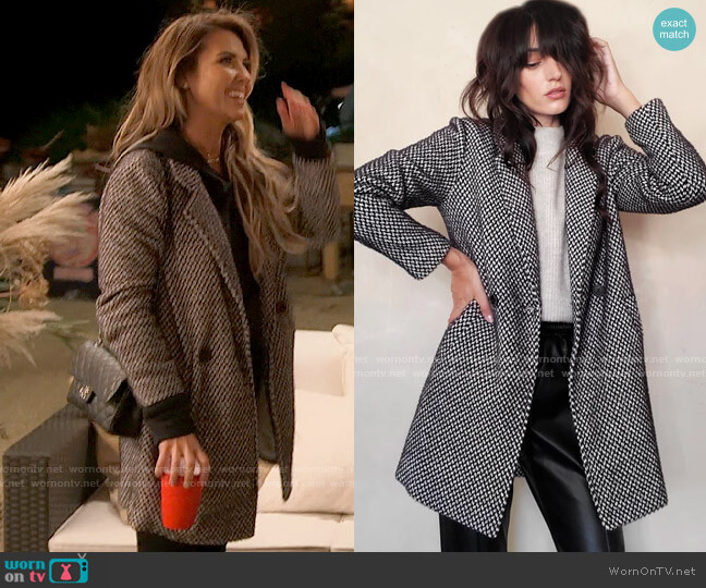 LBLC The Label Bowie Jacket worn by Audrina Patridge  on The Hills New Beginnings