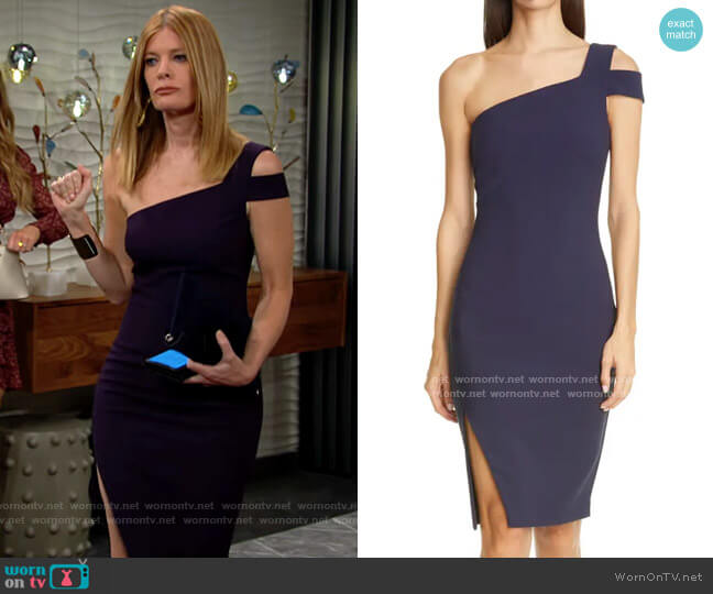 Likely Packard Dress worn by Phyllis Summers (Michelle Stafford) on The Young & the Restless