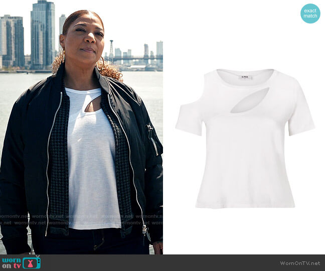 LnA Bloom Tee worn by Robyn McCall (Queen Latifah) on The Equalizer