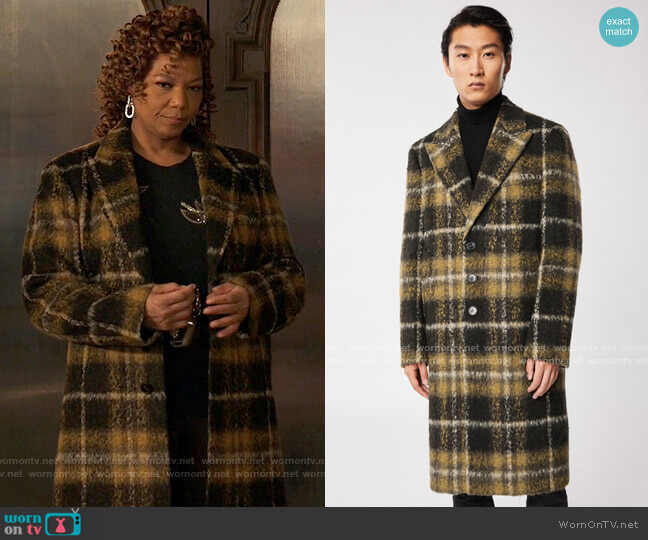 Mackage Orlando Coat worn by Robyn McCall (Queen Latifah) on The Equalizer