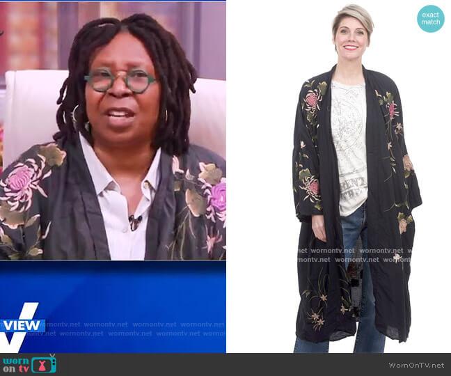 Bonita Kimono by Magnolia Pearl worn by Whoopi Goldberg  on The View