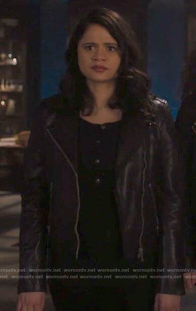 Mel's leather biker jacket on Charmed
