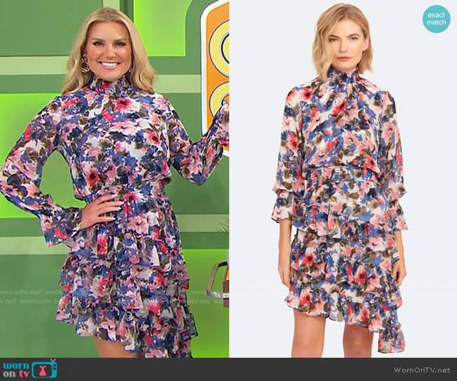 Misa Los Angeles Savanna Dress worn by Rachel Reynolds  on The Price is Right