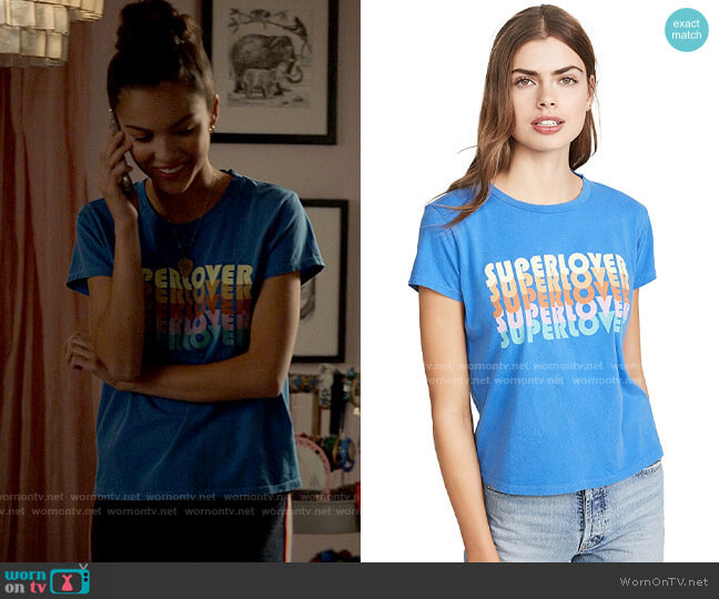 Mother The Boxy Goodie Goodie Tee worn by Nini (Olivia Rodrigo) on High School Musical The Musical The Series