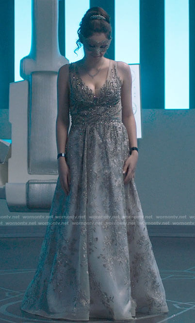 Nia's prom dress on Supergirl