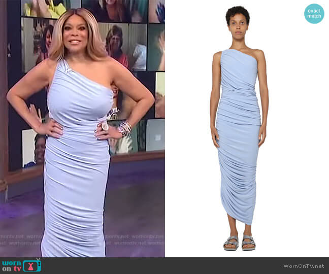 Diana Gown by Norma Kamali worn by Wendy Williams  on The Wendy Williams Show