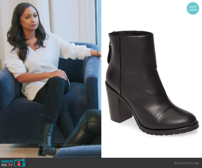 Newbury 2.0 Bootie by Rag and Bone worn by Eboni K. Williams (Ebony K. Williams) on The Real Housewives of New York City