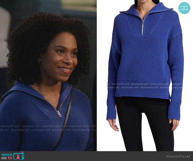 Lena Sweater by Rag & Bone worn by Maggie Pierce (Kelly McCreary) on Greys Anatomy