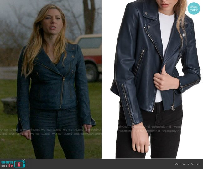 Rag & Bone Mack Jacket worn by Jenny Hoyt (Katheryn Winnick) on Big Sky
