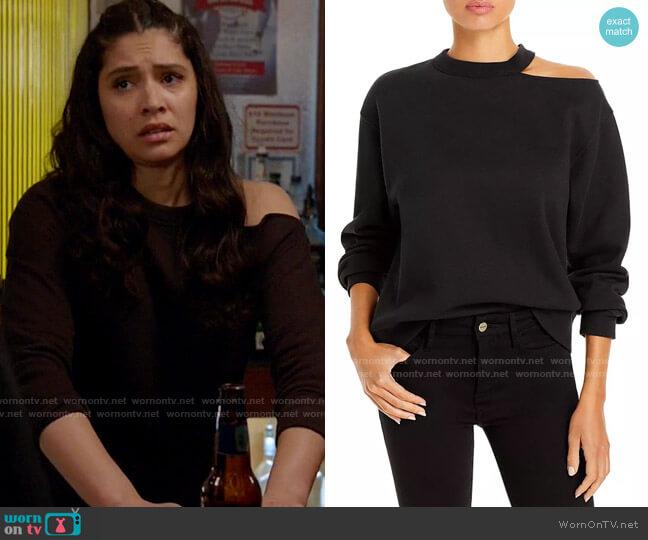 Rails Quincy Sweatshirt worn by Stella Kidd (Miranda Rae Mayo) on Chicago Fire