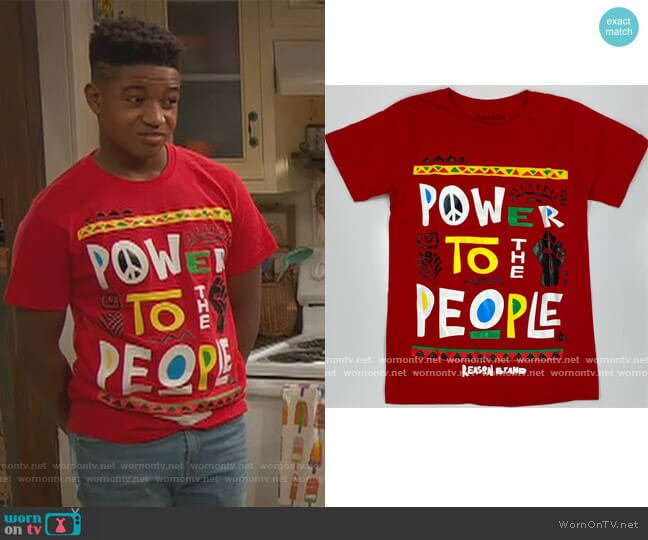 Power to the People by Reason worn by Raven Baxter (Raven-Symoné) on Ravens Home
