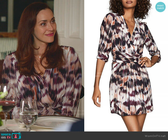 Orla Dress by Reiss worn by Abigail Pershing (Sarah Power) on Good Witch