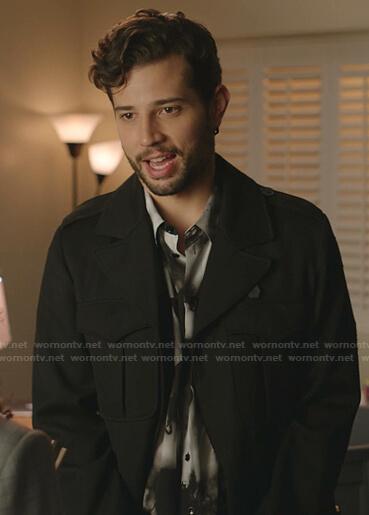 Sam's black jacket on Dynasty