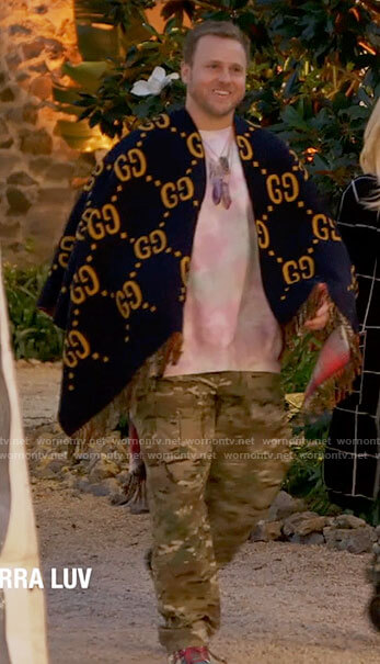 Spencer's Gucci poncho on The Hills New Beginnings
