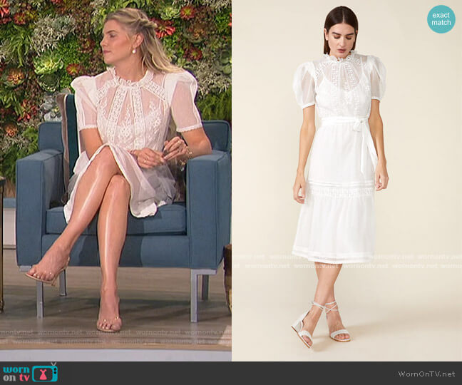 Tomi Dress by St. Roche worn by Amanda Kloots  on The Talk
