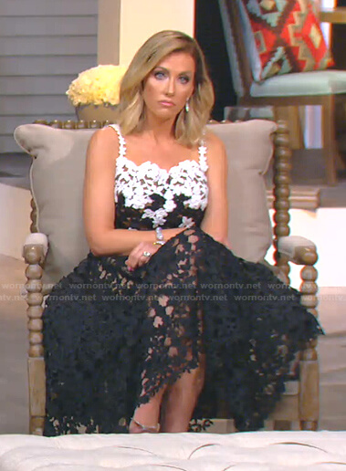 Tiffany's reunion dress on The Real Housewives of Dallas