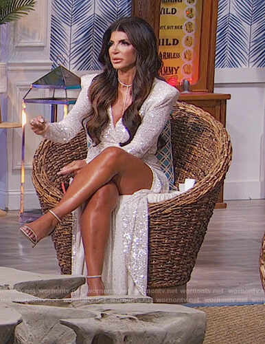 Teresa's reunion dress on The Real Housewives of New Jersey