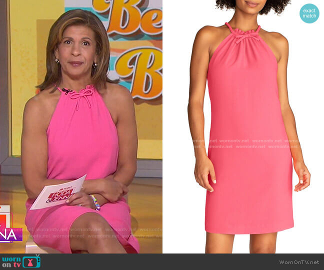 Katie Bow Shift Dress by Trina Turk worn by Hoda Kotb  on Today