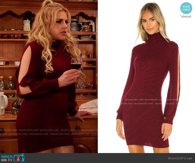 Tularosa Brisk Sweater Dress worn by Summer Dutkowsky (Busy Philipps) on Girls5eva