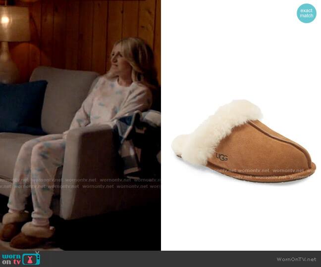 Ugg Scuffette II Slipper worn by Gina Dabrowski (Annaleigh Ashford) on B Positive