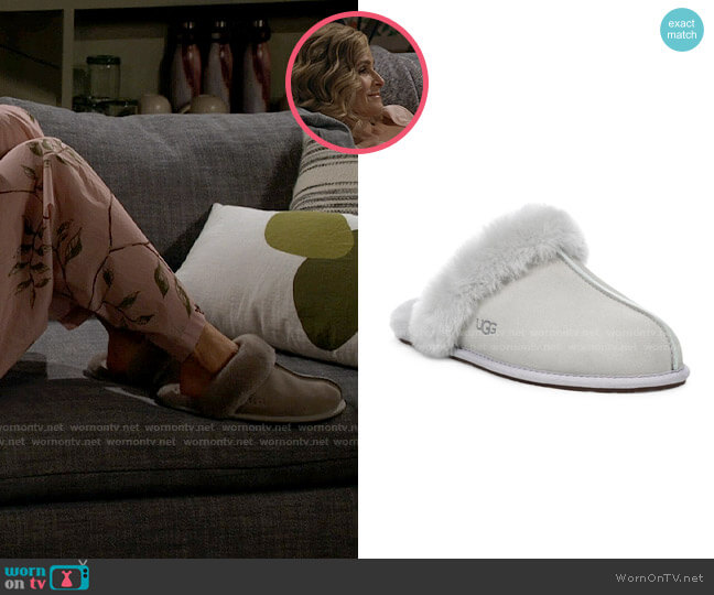 Ugg Scuffette II Slipper worn by Jean Raines (Kyra Sedgwick) on Call Your Mother