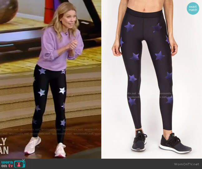 The Lux Knockout Legging by Ultracor worn by Kelly Ripa  on Live with Kelly & Ryan