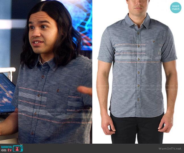 Vans Elliot Shirt worn by Cisco Ramon (Carlos Valdes) on The Flash