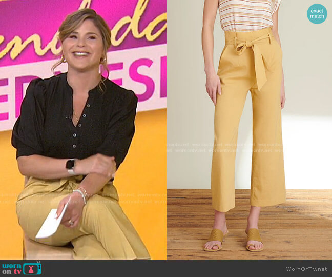Elice Pants by Veronica Beard worn by Jenna Bush Hager  on Today